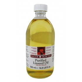 114050014 Daler Rowney Purified Linseed Oil 500ml. Bottle