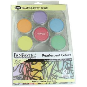 30078 PanPastel Ultra Soft Artist Pastel Set 9ml 6 Pcs