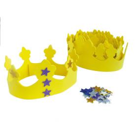 GT41769 Grim'tout Craft Foam Kit Crown Foam and Ornaments