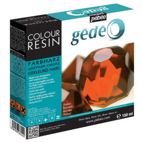 766154 Gedeo Resin 150ml - Amber