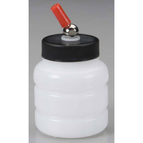 A4802 Iwata No-Rust Translucent Plastic Jar 2 Oz