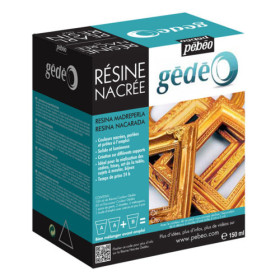 766161 Gedeo Resin Kit 150ml - Gold