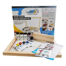 129900910 System3 WB Acrylic Screen Printing Set