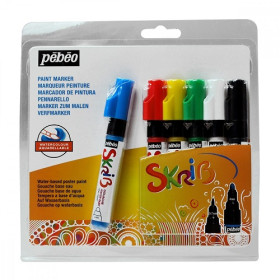 604103 Gouache Classic Marker Set of 6