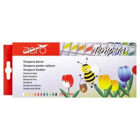 9201-2412 Aero Tempra Barve Poster Colour Set of 12