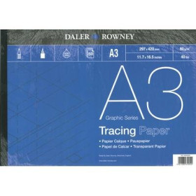403550300 DR GRAPHIC SERIES TRACING PAD A3
