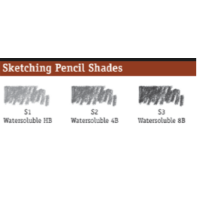 DR SKETCHING WATERSOLUBLE PENCILS