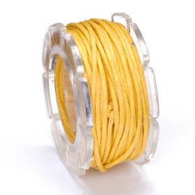 2290412 Wax Cord Yellow