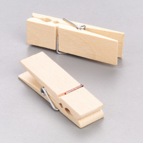 Wooden clothe-peg, natural_3060014