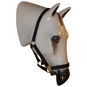 1712 Deluxe Synthetic Halter with Brass Fittings Cob